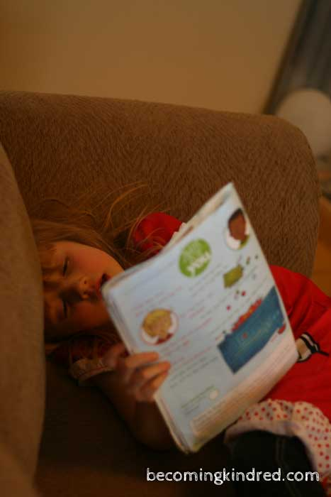 Taking some reading time.