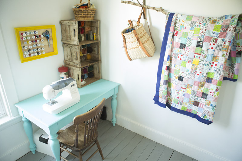 A Farmhouse Tour: My Sewing Room