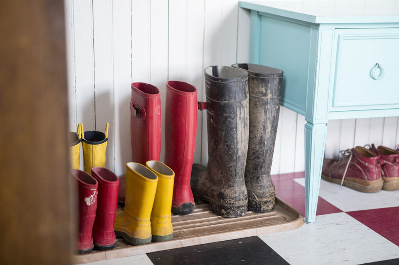 A Farm House Tour: The Laundry/Boot Room