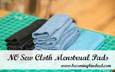 No Sew Cloth Menstrual Pads