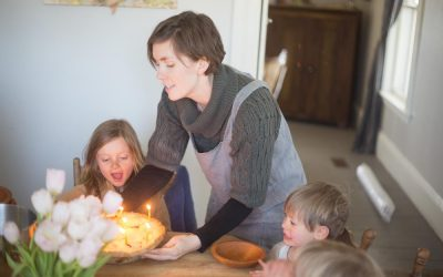A Pie Birthday Party; Aneliese turns 8