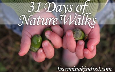 31 Days of Nature Walks
